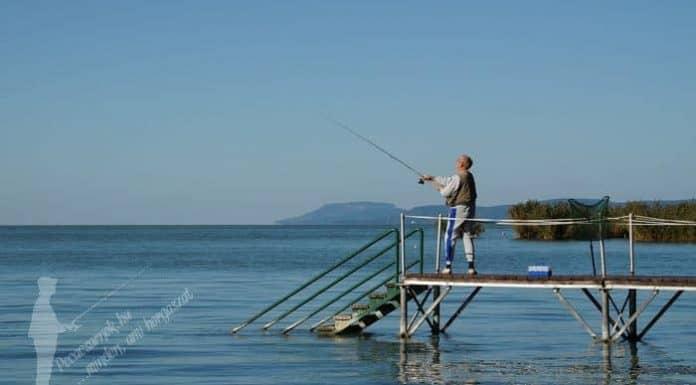 balatoni horgászat partról