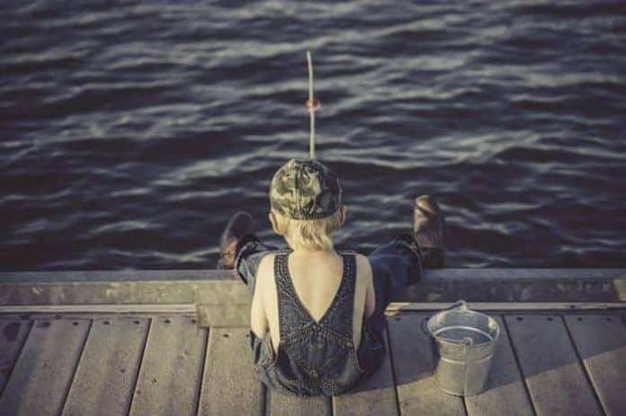 horgászat gyerekkel