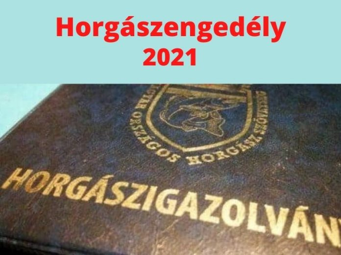 horgászengedély 2021