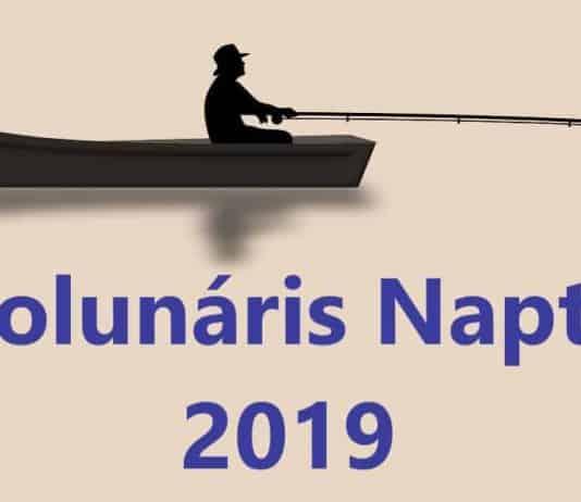 szolunáris naptár 2019